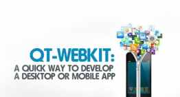 QT-Webkit:  A Quick Way to Develop A Destop or Mobile App