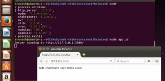 Microsoft Chakra JavaScript on Linux