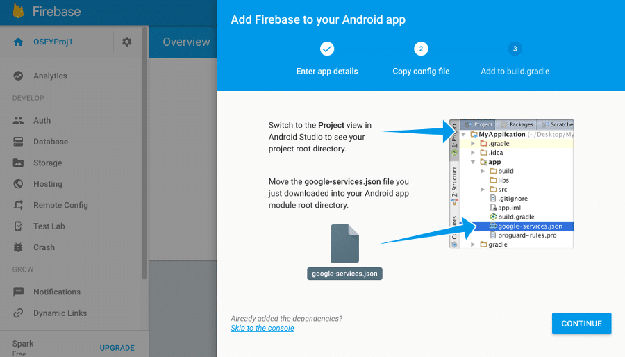 Retrieve real-time data in Android using Firebase - Open