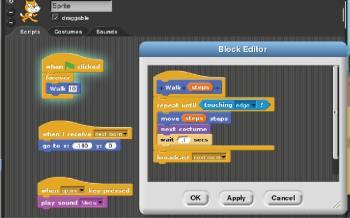 Figure 5 Snap script