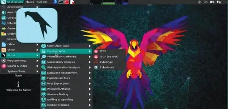 Parrot Security OS 3.8