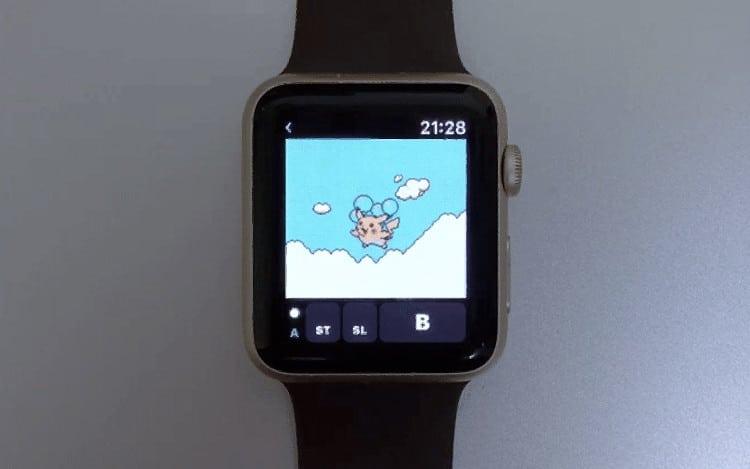 Apple Watch Game Boy emulator