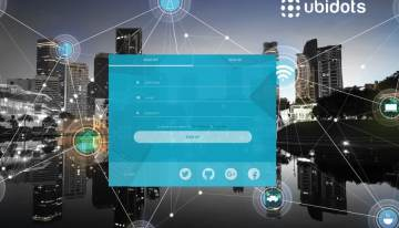 Sign up with Ubidots to power your IoT app