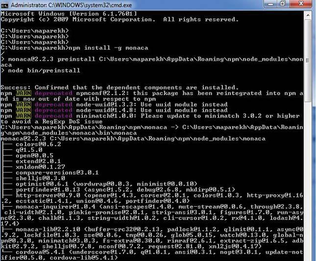 Using Onsen UI with Monaca IDE for hybrid mobile app development