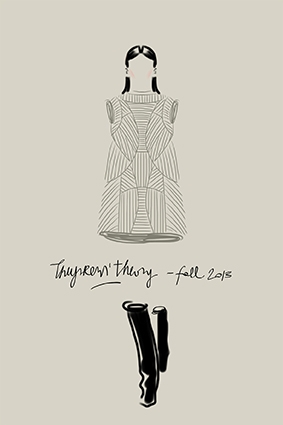 Open Toe fashion illustration
