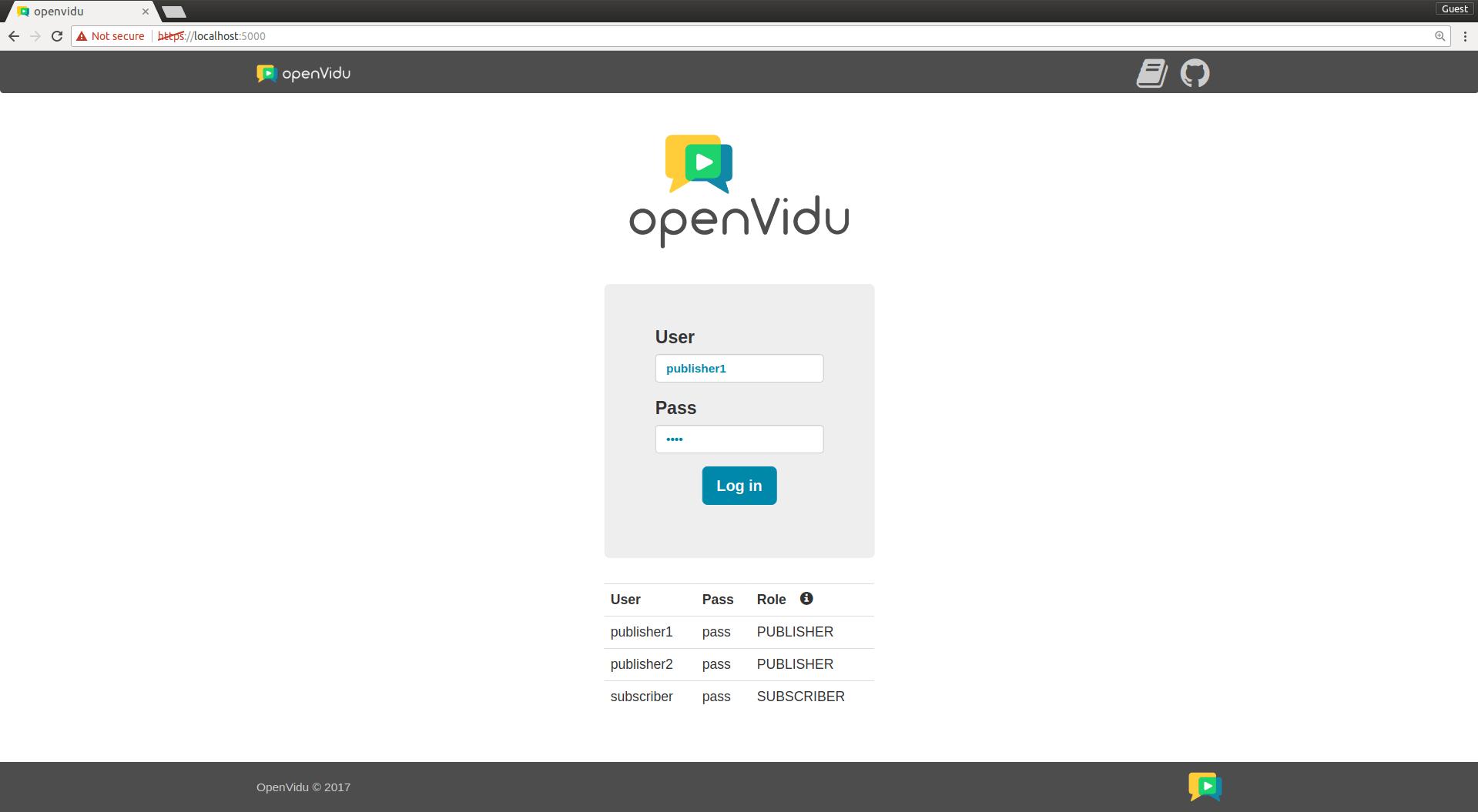 Openvidu Documentation