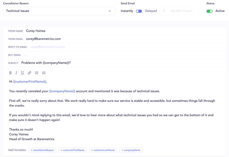 Churn Zero - Emails Personalizados