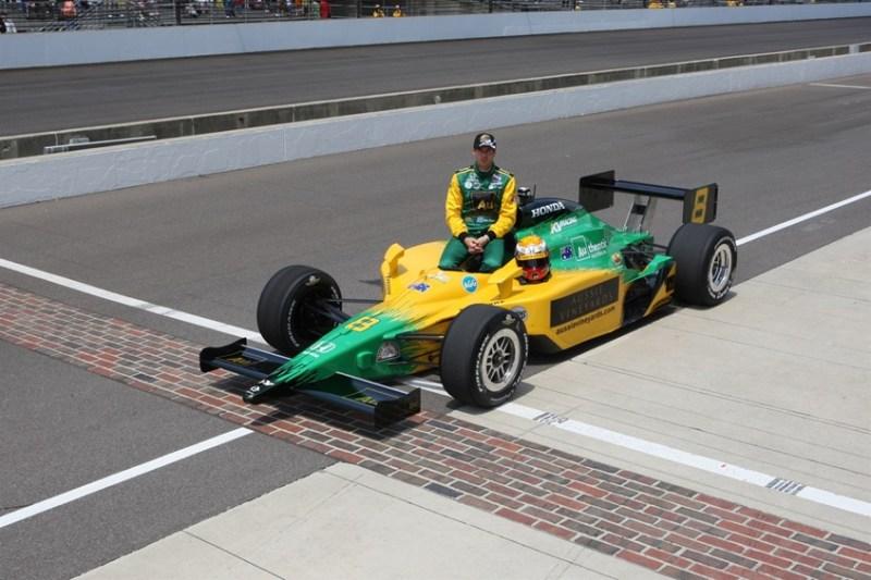 Indy500 2008 - No. 8
