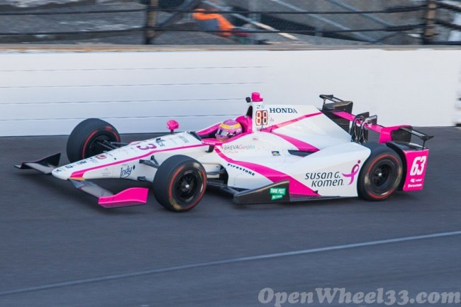 2017 101st Indy 500 Driver/Car Quiz - 2017 CAR 63 INDY 500 P1 OW