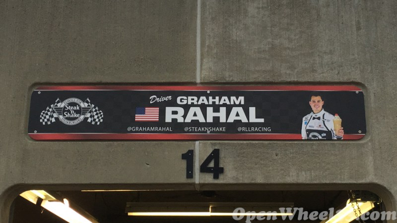 Garage Signs of the 101st Running of the Indianapolis 500 Mile Race - 2017 IMS GARAGE SIGN CAR 15
