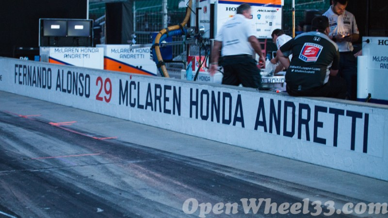 Pit Walls of the 101st Running of the Indianapolis 500 Mile Race - 2017 INDY500 PW No. 29