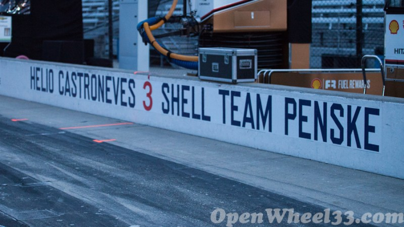 Pit Walls of the 101st Running of the Indianapolis 500 Mile Race - 2017 INDY500 PW No. 3