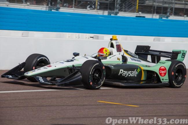 2018 Verizon IndyCar Series Driver Car Quiz - 2018 Phoenix Test No. 19