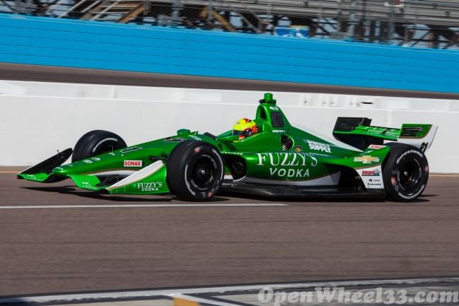 2018 Verizon IndyCar Series Driver Car Quiz - 2018 Phoenix Test No. 21