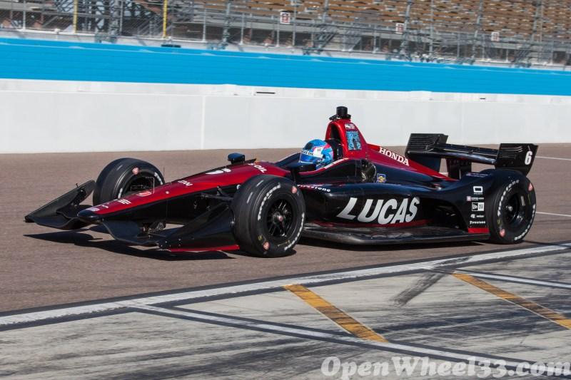 "2018 Verizon IndyCar Series ""Prix View"" Phoenix Test Liveries - 2018 Phoenix Test No. 6"