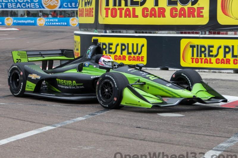 2018 Verizon IndyCar Series Firestone GP of St. Petersburg Liveries - 2018 ST PETE No. 23
