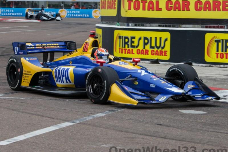 2018 Verizon IndyCar Series Firestone GP of St. Petersburg Liveries - 2018 ST PETE No. 27