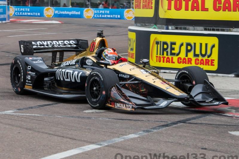 2018 Verizon IndyCar Series Firestone GP of St. Petersburg Liveries - 2018 ST PETE No. 5