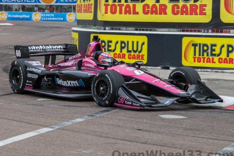 2018 Verizon IndyCar Series Firestone GP of St. Petersburg Liveries - 2018 ST PETE No. 60