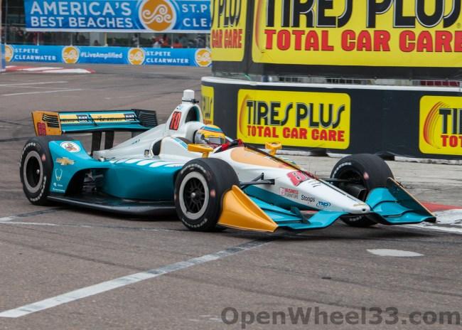 2018 Verizon IndyCar Series Driver Car Quiz - 2018 ST PETE No. 88