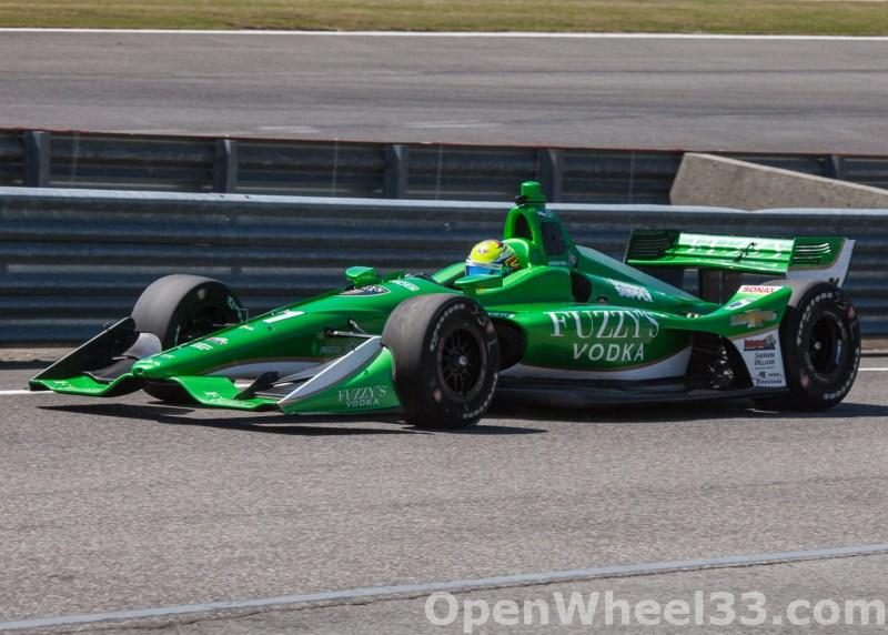 2018 Verizon IndyCar Series Honda Indy GP of Alabama Liveries - 2018 BARBER No. 21
