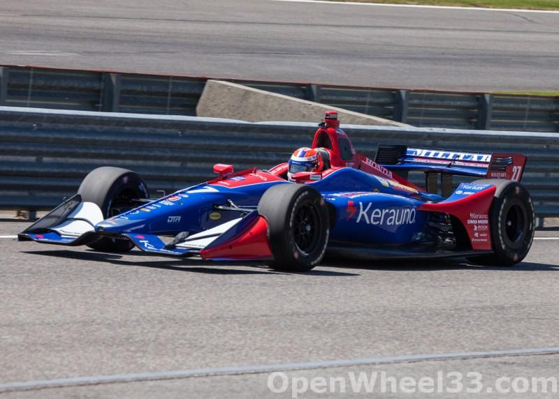 2018 Verizon IndyCar Series Honda Indy GP of Alabama Liveries - 2018 BARBER No. 27
