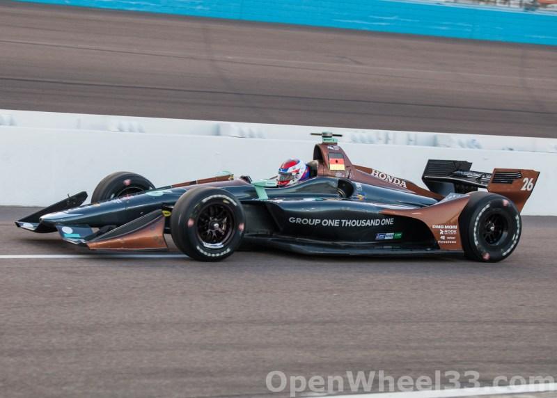 2018 Verizon IndyCar Series Desert Diamond West Valley Phoenix GP Liveries - 2018 PHOENIX No. 26