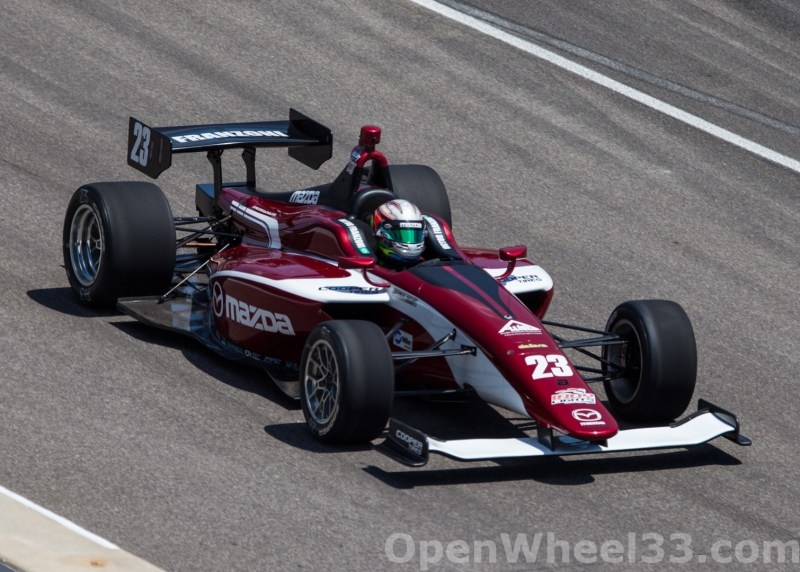 2018 Indy Lights Liveries From The Freedom 100 - 2018 INDY 500 CD LIGHTS No. 23
