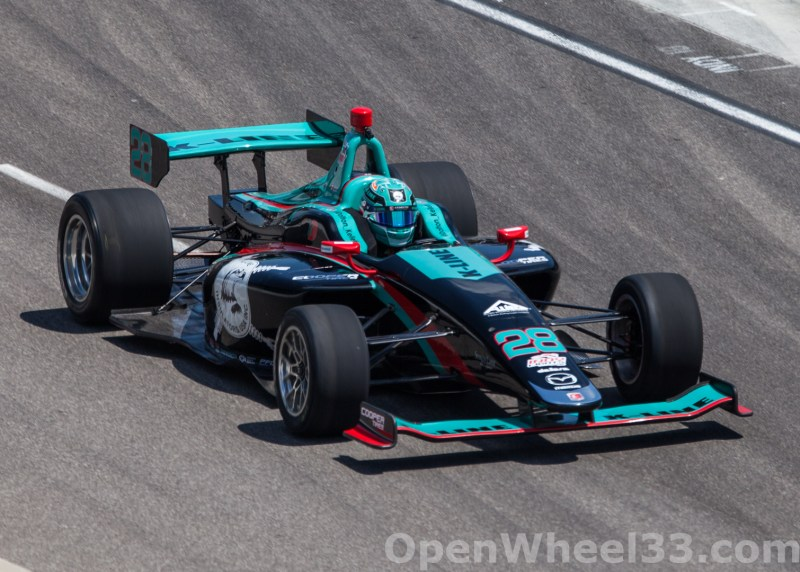 2018 Indy Lights Liveries From The Freedom 100 - 2018 INDY 500 CD LIGHTS No. 28
