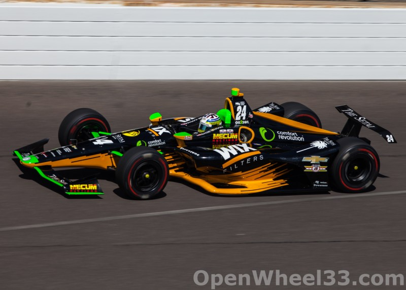 Liveries of the 102nd Running of the Indianapolis 500 Mile Race - 2018 INDY 500 CD No. 24