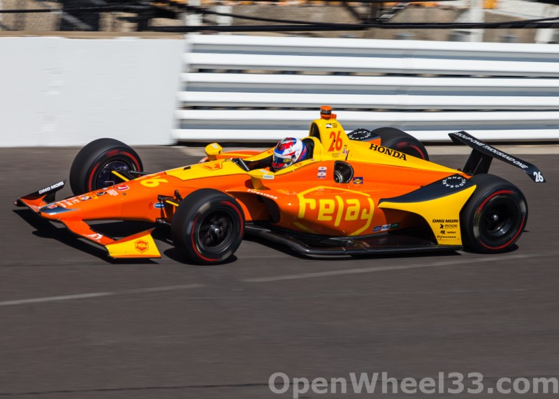 Liveries of the 102nd Running of the Indianapolis 500 Mile Race - 2018 INDY 500 CD No. 26