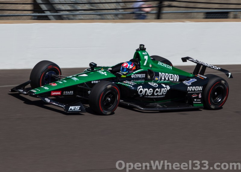 Liveries of the 102nd Running of the Indianapolis 500 Mile Race - 2018 INDY 500 CD No. 7