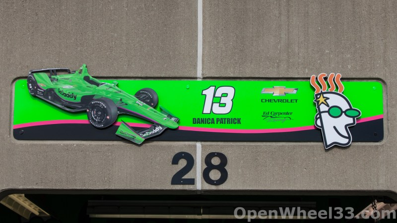 2018 Month of May Garage Signs at Indianapolis Motor Speedway - 2018 INDY 500 GS No. 13