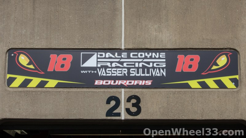 2018 Month of May Garage Signs at Indianapolis Motor Speedway - 2018 INDY 500 GS No. 18