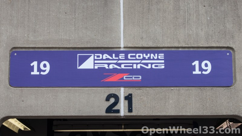 2018 Month of May Garage Signs at Indianapolis Motor Speedway - 2018 INDY 500 GS No. 19