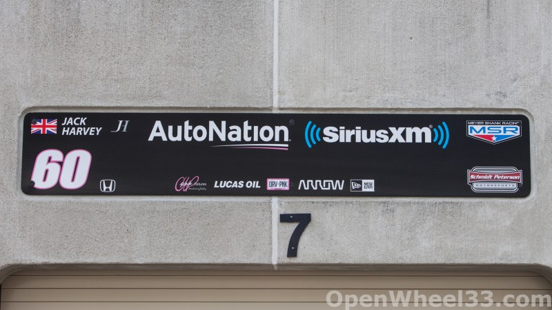 2018 Month of May Garage Signs at Indianapolis Motor Speedway - 2018 INDY 500 GS No. 60