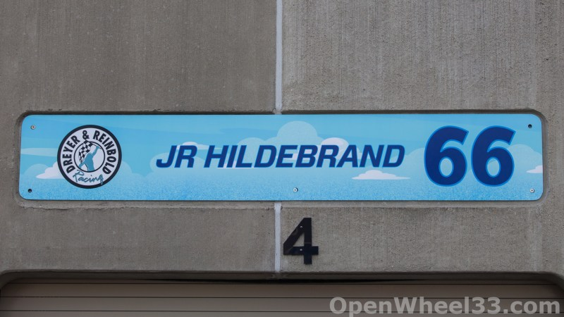 2018 Month of May Garage Signs at Indianapolis Motor Speedway - 2018 INDY 500 GS No. 66