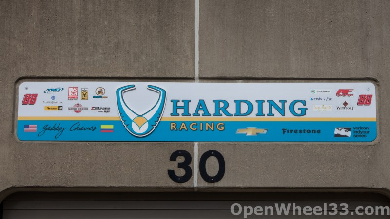 2018 Month of May Garage Signs at Indianapolis Motor Speedway - 2018 INDY 500 GS No. 88