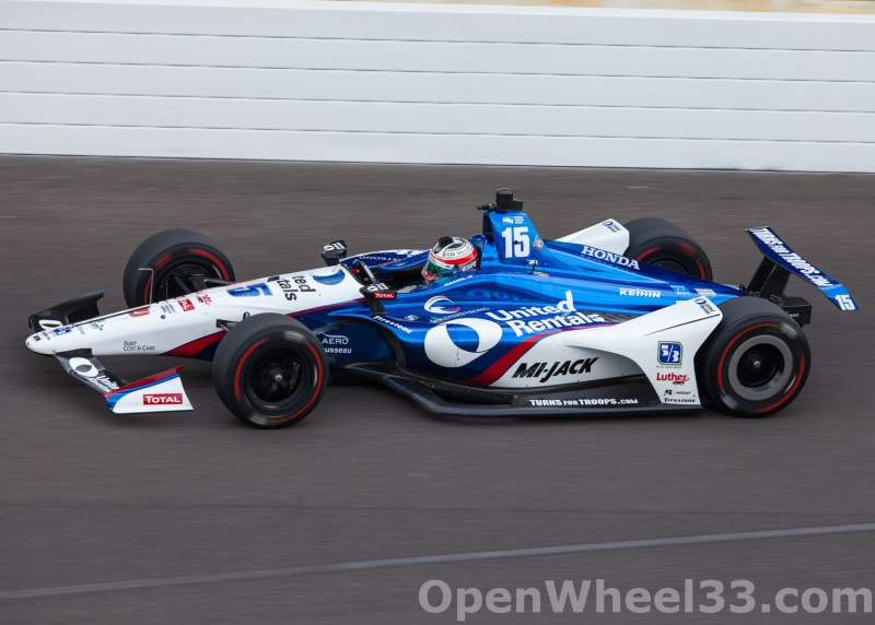 Liveries of the 102nd Running of the Indianapolis 500 Mile Race - 2018 INDY 500 P3 No. 15