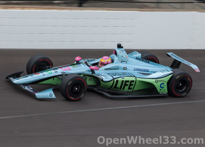 Liveries of the 102nd Running of the Indianapolis 500 Mile Race - 2018 INDY 500 P3 No. 63