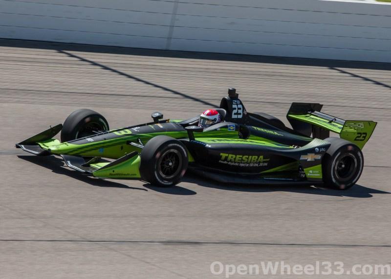 2018 Verizon IndyCar Series Iowa Corn 300 Liveries - 2018 IOWA No. 23