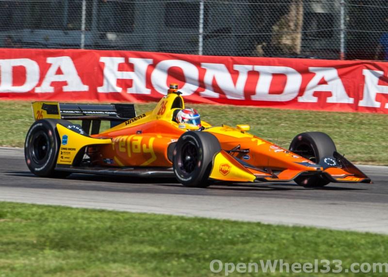 2018 Verizon IndyCar Series Honda Indy 200 at Mid-Ohio Liveries - 2018 MIDOHIO No. 26