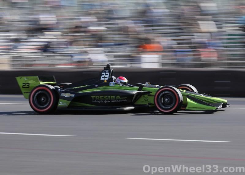 2018 Verizon IndyCar Series Grand Prix of Portland Liveries - 2018 PORTLAND No. 23