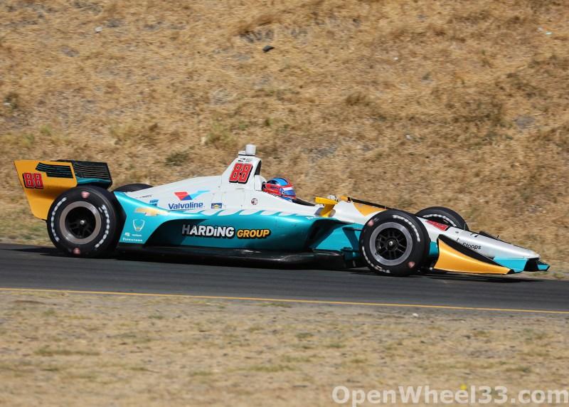 2018 Verizon IndyCar Series INDYCAR Grand Prix of Sonoma Liveries - 2018 SONOMA No. 88