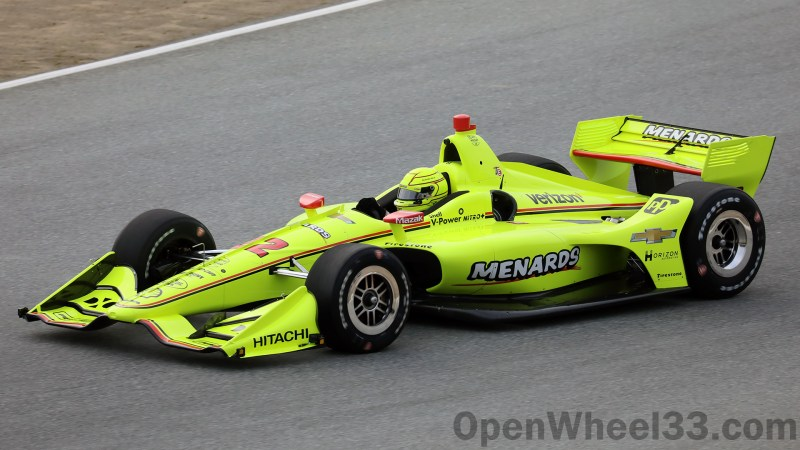 2019 NTT IndyCar Series Liveries from WeatherTech Raceway Laguna Seca - 2019 FEB LAGUNA No. 22