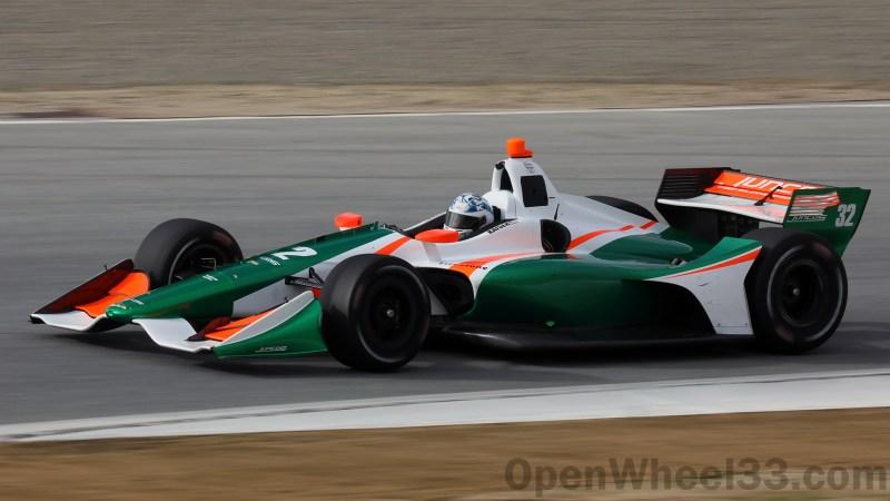 2019 NTT IndyCar Series Liveries from WeatherTech Raceway Laguna Seca - 2019 FEB LAGUNA No. 32