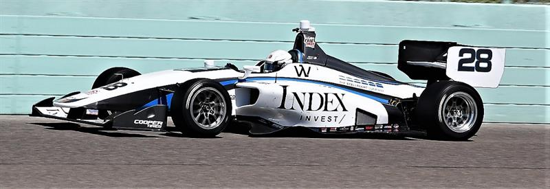 2019 INDY LIGHTS LIVERIES ANDRETTI AUTOSPORT #28 - 2019 INDY LIGHTS CAR 28 HOMESTEAD TEST