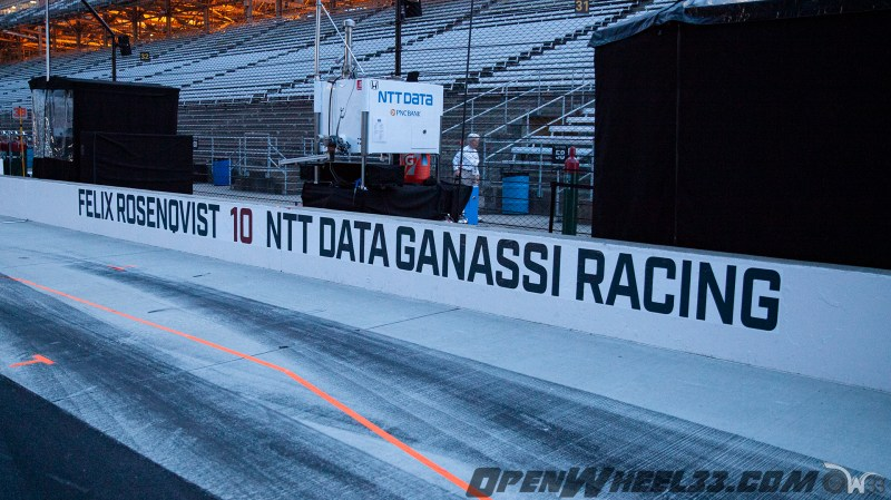 Pit Wall Signs - 2019 103rd Running of the Indianapolis 500 Mile Race - 2019 INDYCAR LIVERIES INDY500 PIT WALL No. 10