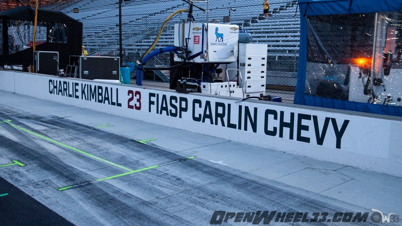 Pit Wall Signs - 2019 103rd Running of the Indianapolis 500 Mile Race - 2019 INDYCAR LIVERIES INDY500 PIT WALL No. 23