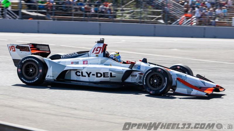 Liveries – 2019 NTT IndyCar Series Grand Prix of Portland - 2019 INDYCAR LIVERIES PORTLAND INDYCAR CAR No. 19